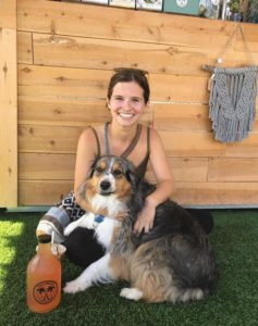 TapShack Customer With Dog